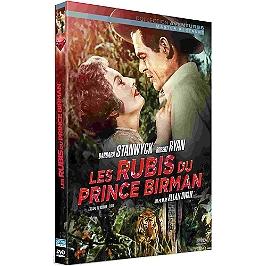 Les rubis du prince birman, Dvd