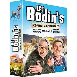 Coffret les Bodin's 3 spectacles : retour au pays ; mère et fils ; bienvenue à la capitale, Dvd