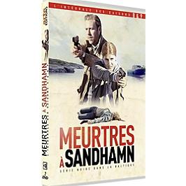 Coffret meurtres à Sandhamn, saisons 8 et 9, Dvd