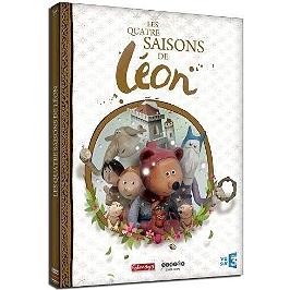 Les quatre saisons de Léon : les aventures médiévales de Léon, Mélie, Boniface et Pougne !, Dvd