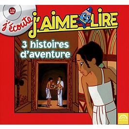 3 histoires d'aventure, CD Digipack