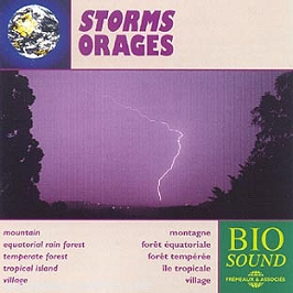 Bio Sound : Orages, CD
