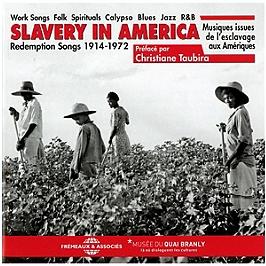 Slavery in America : musiques issues de l'esclavage aux Amériques-redemption songs, CD + Box