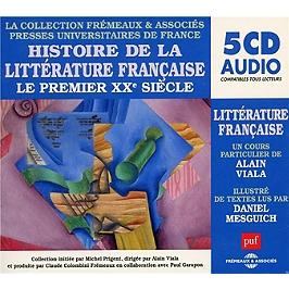 Histoire de la littérature française-le premier XXe siecle