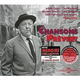 Les chansons de Prévert, CD + Box