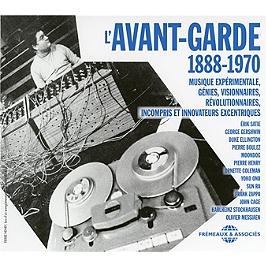 L'avant-garde 1888-1970, CD + Box