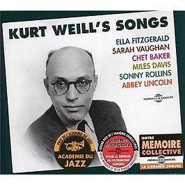 Kurt Weill's songs, CD + Box