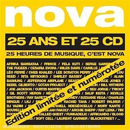 Nova /Vol.1, 25 cd de 12 titres (édition limitée), CD + Box