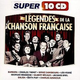 Légendes de la chanson francaise, CD + Box