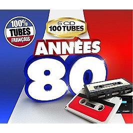Années 80 100% tubes français, CD Digipack