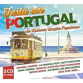 As melhores cancoes populares : festa en Portugal, CD Digipack
