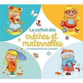 Le coffret des crèches et maternelles (à la découverte des 4 saisons), Edition 5 CD digistar.
