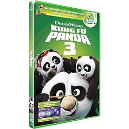 Kung-fu panda 3, Dvd