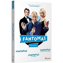 Coffret Fantômas : Fantômas ; Fantômas se déchaine ; Fantômas contre Scotland Yard, Dvd
