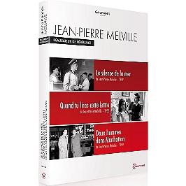 Coffret Jean-Pierre Melville : le silence de la mer ; quand tu liras cette lettre ; deux hommes dans Manhattan, Dvd