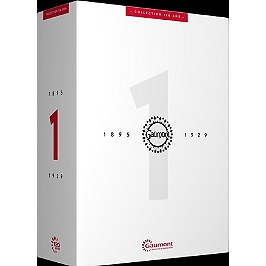 Coffret collection 120 ans, vol. 1 : le muet - 1895-1929, Dvd