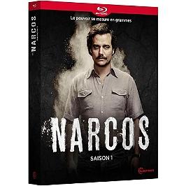 Coffret narcos, saison 1, Blu-ray