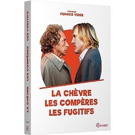 Coffret Francis Veber, vol. 1, 3 films : les compères ; le fugitif ; la chèvre, Dvd