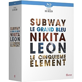 Coffret Luc Besson 5 films, Blu-ray