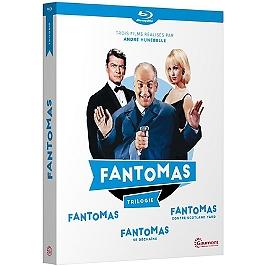Coffret Fantômas 3 films : Fantômas ; Fantômas se déchaîne ; Fantômas contre Scotland Yard, Blu-ray