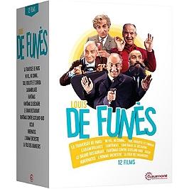 Coffret Louis de Funès 12 films, Dvd
