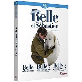 Coffret Belle et Sébastien 3 films : Belle et Sébastien ; l'aventure continue ; le dernier chapitre, Blu-ray