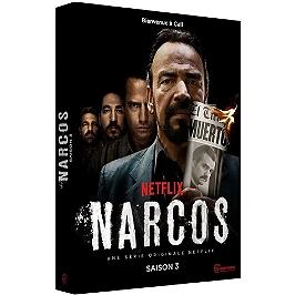 Coffret narcos, saison 3, Dvd