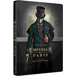 L'empereur de Paris, Steelbook, Blu-ray