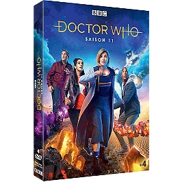 Coffret Doctor Who, saison 11, Dvd