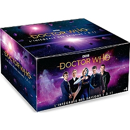 Coffret Doctor Who, saisons 1 à 11, Dvd