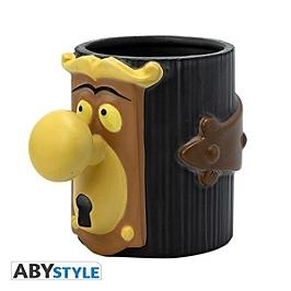 DISNEY - mug 3D - alice poignée de porte