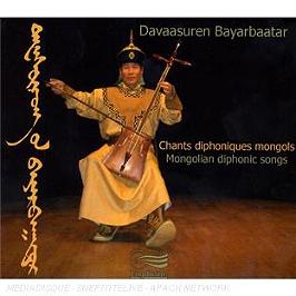 Chants Diphoniques Mongols, CD Digipack