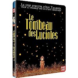 Le tombeau des lucioles, Blu-ray