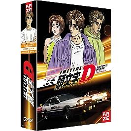 Coffret initial D : first stage, 26 épisodes ; second stage, 13 épisodes, Dvd
