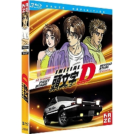 Coffret initial D : first stage, 26 épisodes ; second stage, 13 épisodes, Blu-ray