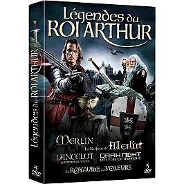 Coffret légendes du roi Arthur, Dvd