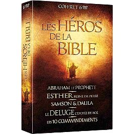 Coffret les héros de la Bible, Dvd