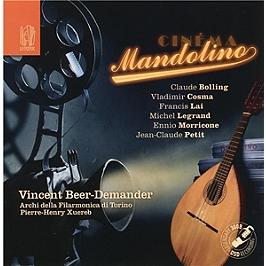 Cinéma mandolino, CD
