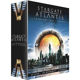 Coffret intégrale Stargate Atlantis, saisons 1 à 5, Dvd
