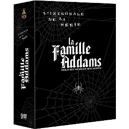 Coffret intégrale la famille Addams, Dvd