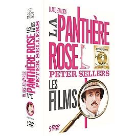 Coffret la panthère rose 5 films, édition anniversaire, Dvd
