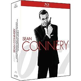 Coffret James Bond période Sean Connery 6 films, Blu-ray