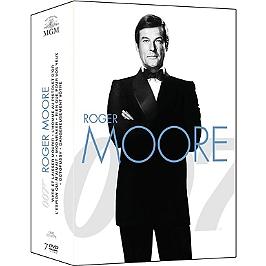 Coffret James Bond période Roger Moore 7 films, Dvd