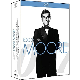 Coffret James Bond période Roger Moore 7 films, Blu-ray