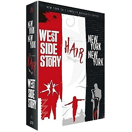 Coffret comédies musicales 3 films : hair ; New York New York; West side story, Dvd