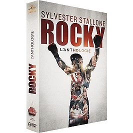 Coffret Rocky 6 films, Dvd