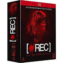 Coffret [rec] 4 films : [rec] ; [rec]² ; [rec]³ genesis ; [rec] 4, apocalypse, Blu-ray