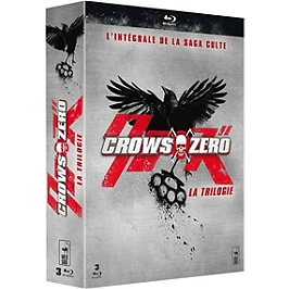 Coffret trilogie crows zero, Blu-ray