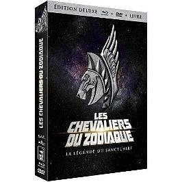 Les chevaliers du Zodiaque : la légende du sanctuaire, édition Deluxe, Blu-ray
