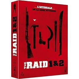 Coffret the raid 1 et 2, Blu-ray